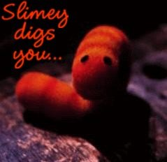 slimey worms digs you