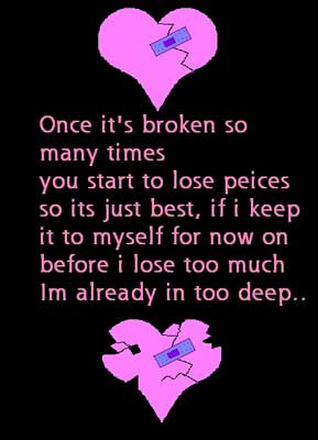 broken heart quote
