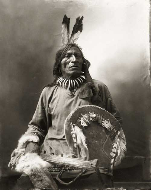 native american man