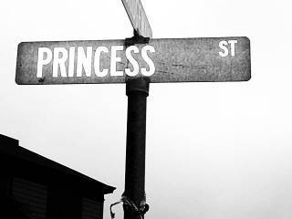 princess street sign