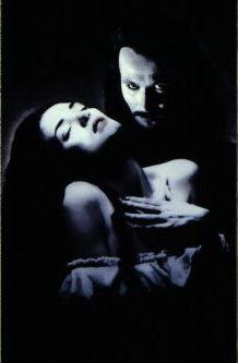 vampire with girl