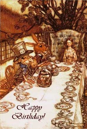 happy birthday alice in wonderland