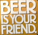 beer is your friend icon
