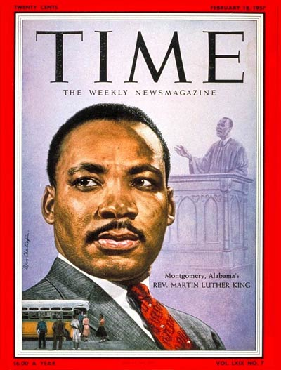 rev martin luther king on cover of time