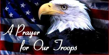 a prayer for our troops