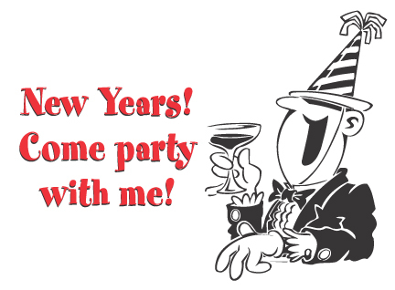 new years come party with me