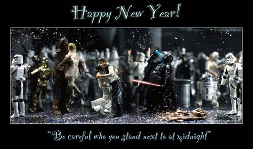 happy new year star wars