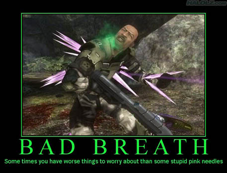bad breath funny
