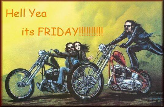 hell yea its friday