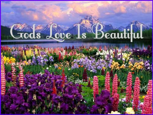 gods love is beautiful