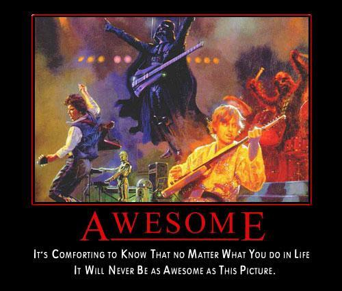 awesome star wars rock band