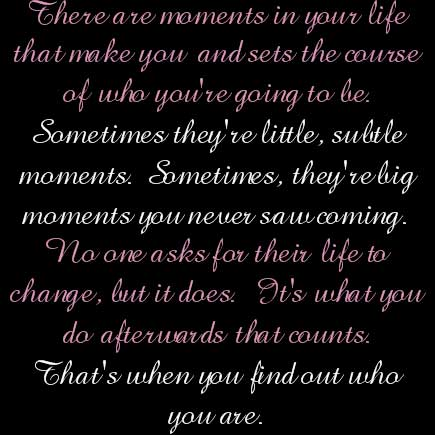 moments quote