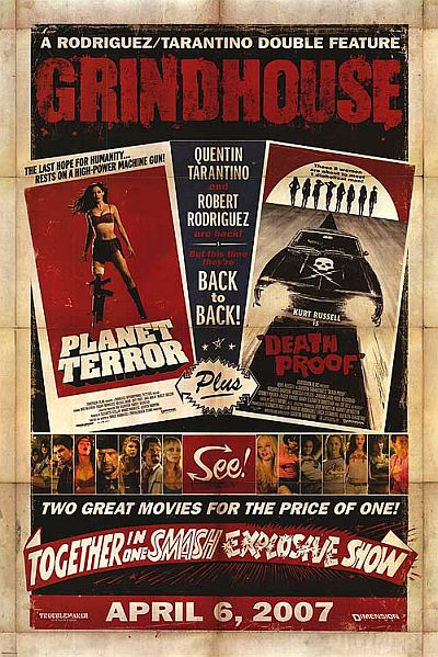 rodriguez tarantino grindhouse - planet terror - death proof