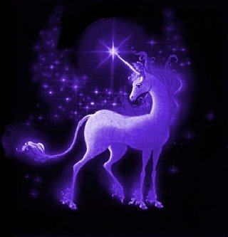 purple unicorn