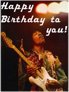 happy birthday to you jimi hendrix
