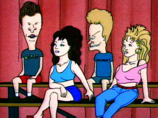 beavis and butthead chicks