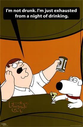 family guy drinking
