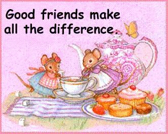 good friends make all the difference mice