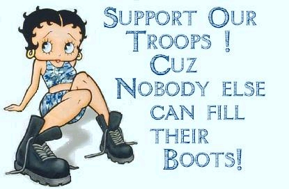 support our troops better boop