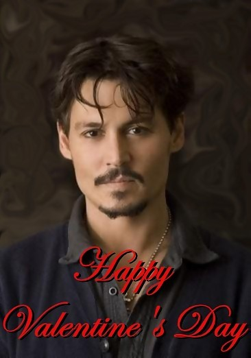 happy valentines day johnny depp
