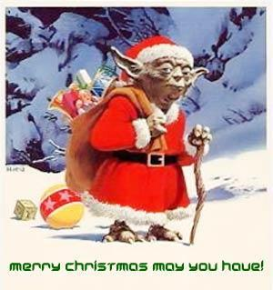 merry christmas may you have yoda