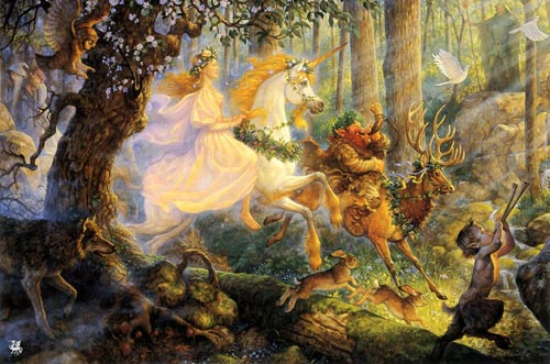 the maiden and the unicorns