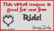 ride  coupon