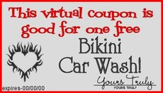 bikini car wash coupon