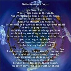 native american prayer