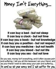 money isn't everything quotes