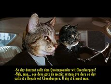 pulp fiction cats