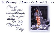 in memory of america's armed force