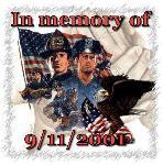 in memory of 9/11/2001 icon